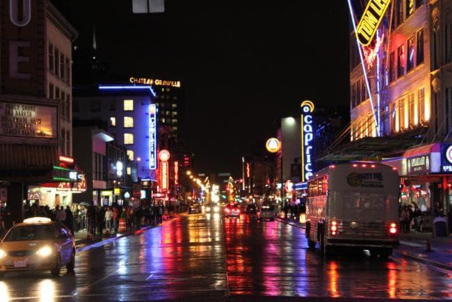 Kanada Gece Hayatı - kanada dil okulları | kanadaegitim.net